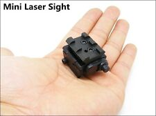Tactical Compact Pistol Low Profile Rifle Red Laser Dot Sight Scope with Mounts