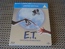 Blu Steel 4 U: E.T. The Extra-Terrestrial Ltd Ed Steelbook & Digital Copy Sealed