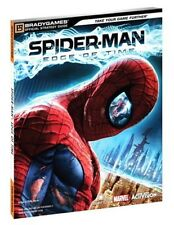 Spider Man Edge of Time Brady Games Strategy Guide - Xbox 360 Marvel Spiderman
