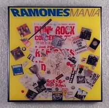 THE RAMONES Mania Record Cover Art Ceramic Tile Coaster