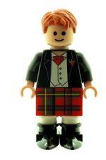 Custom Minifigure Scottish Groom Best Man Printed On Lego Parts