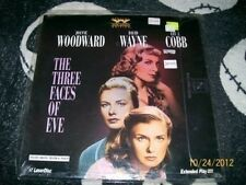 The Three Faces of Eve NEW Laserdisc LD Joanne Woodard Free Ship $30 Orders