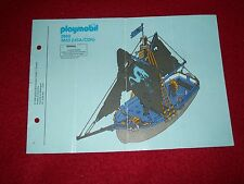 PLAYMOBIL 3860 ( 3833 USA / CND ) notice plan de montage 1996 – complet bon état