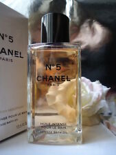 CHANEL No5 INTENSE BATH OIL HUGE 400ml LtdEd GLASS BOTTLE GIFTWRAPPED SEALED BOX