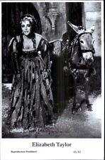 Beautiful Actress ELIZABETH TAYLOR 45/43 Swiftsure 2000 Postcard GREAT QUALITY