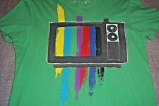 TV Television American Eagle Outfitters AE Vintage Fit T-Shirt Juniors S/P