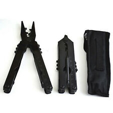 Outdoor Portable Stainless Steel Survival Multi Tool Plier Pocket Carabiner  to