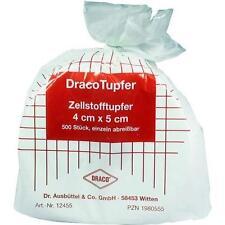 ZELLSTOFFTUPFER 4x5 cm Rolle 500 St