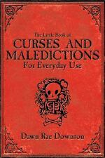Book of Curses and Maledictions Little Book of ~ Wiccan Pagan Witchcraft Supply