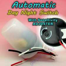 Lux Adjustable Day Night 220V Automatic Dusk Dawn Sensor Light Control Switch