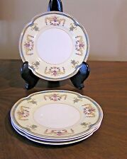 RARE Johnson Brothers dessert bread & butter plates 4pcs in Sicily pattern VG