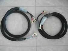 NEW 6' Pair of Kimber Kable Monocle XL Speaker Cable w/WBT-0645 Banana Jacks