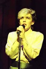 "12""*8"" colour concert photo of David Sylvian of Japan at Liverpool in 1983"