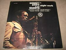 SONNY STITT Giants NIGHT WORK RARE 1st Press SEALED LP 1974 BL-307 Tommy Potter
