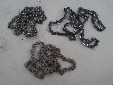 """7OO61  3 PACK 16"""" CHAINS FROM CRAFTSMAN CHAIN SAW, UNSHARPENED, STILL HAVE LIFE"""