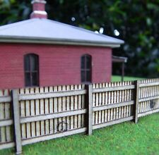 HO scale Paling fence