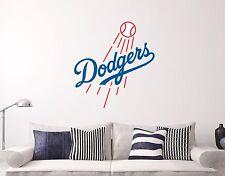 Los Angeles Dodgers Logo Wall Decal Sports Baseball Sticker Vinyl Decor MLB