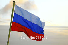 Russia 3x5 ft Super-Poly Indoor/Outdoor Russian Federation FLAG Country Banner