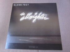 Glenn Frey 1984 The Allnighter 12x12 Promo Cover Flat Poster Eagles Miami Vice