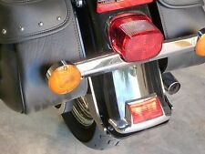 Hidden Harley Softail Trailer Hitch with Removable Tow Bar and Ball