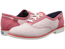 NEW ARRIVAL! KEDS BOYFRIEND CHAMBRAY RED STRIPES OXFORDS SHOES 6 / 36 SALE