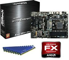 NEW AMD FX-8350 Eight CORE X8 CPU 970 MOTHERBOARD 8GB DDR3 MEMORY RAM COMBO KIT