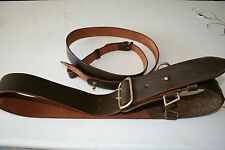 SAM BROWN ARMY BELT WITH SHOULDER STRAP  LEATHER repo
