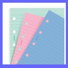 Filofax Mini Size FASHION COLORATI RIGATA Notepaper 513507 Inserto di ricarica