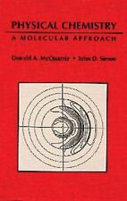 Physical Chemistry: A Molecular Approach 1st Int'l Edition