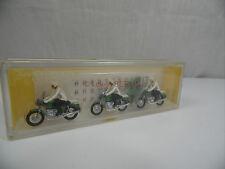 h1332, Preiser Figuren Polizei mit Motorrad mint BOX 1:87 / H0 68
