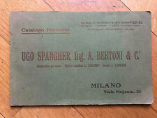 Spangher & Bertoni Milano Catalogo pavimenti legno parquet  primi 900
