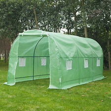 Outsunny 15'x7'x7' Large Patio Greenhouse Outdoor Gardening Hot Plant House