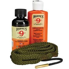 New! Hoppes 9mm. 38 Caliber Pistol Cleaning Kit, Clam Photo Directions 110009
