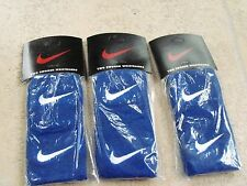 3 Sets NIKE a pairs of  Swoosh Wristbands for tennis and other-Blue/White