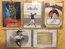 2016 Topps Scouting reports Sandy Koufax Auto insert dodgers SRA-SK