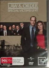 Law And Order - Special Victims Unit : Season 10 (DVD, 2010, 5-Disc Set)
