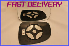FITS NISSAN NOTE 2006-2011 DOOR WING MIRROR GLASS CONVEX HEATED RIGHT HAND SIDE