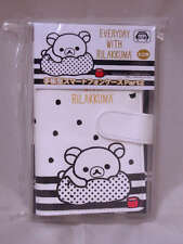 San-X Rilakkuma Smart Phone Flip Diary Case 140x75x10mm PU Leather White