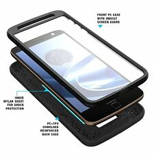 POETIC Shockproof Case Cover for Motorola Moto Z Force /Moto Z Force Droid Black