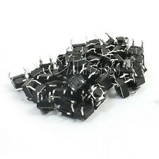 100Pcs Tactile Push Button Switch Tact Switch 6X6X4.3mm 4-pin DIP