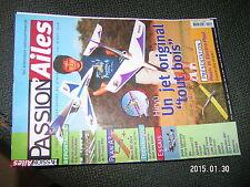 Passion Ailes n°15 Plan encarté Hiryu & Micro RC Zizi3 / P-38 Lightning