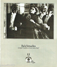 PUBLICITE ADVERTISING 036  1978  Jean Desprez parfum Bal à Versailles