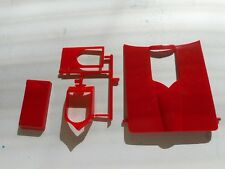 67 CORVETTE DRAG HOOD W SCOOP MONOGRAM 1/12 PLASTIC MODEL CAR PART
