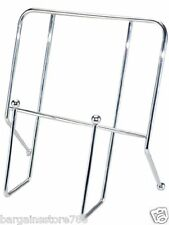 Chrome Cookbook Holder Cookery Book Recipe Holder Stand Silver Plated