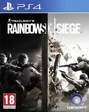 Tom Clancy's Rainbow Six Siege PS4 PLAYSTATION 4 GAME USED IN SUPERB CONDITION