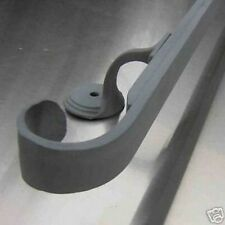 3-1/2 foot wrought iron handrail