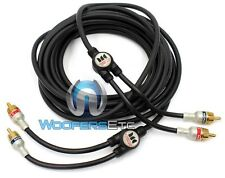 MONSTER INTERLINK MICRO CAR AUDIO RCA WIRE 16 FOOT 17 PATCH 5 METER CORD THIN
