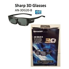 Sharp 3D Glasses - for Sharp 3D Televisions - AN-3DG20-B