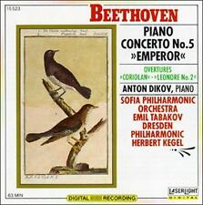 Beethoven: Piano Concerto No. 5; Overtures (CD, Oct-1990, Laserlight) WORLD SHIP