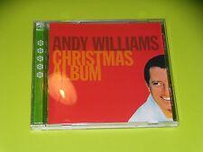 CD ANDY WILLIAMS - CHRISTMAS ALBUM - 1999